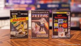 ZX Spectrum 3D Starstrike, Jetpac, Split Personalities