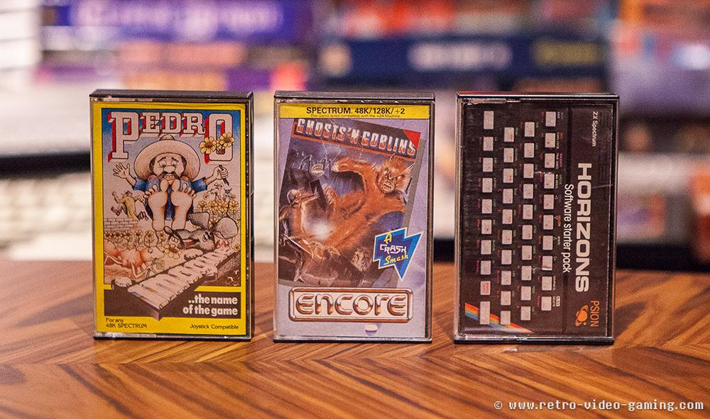 ZX Spectrum Pedro, Ghosts n Goblins, Horizons