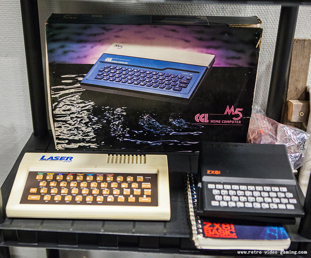 ZX81, M5 and Laser 200 at Retro Gathering
