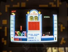 Atari Tetris arcade gameplay