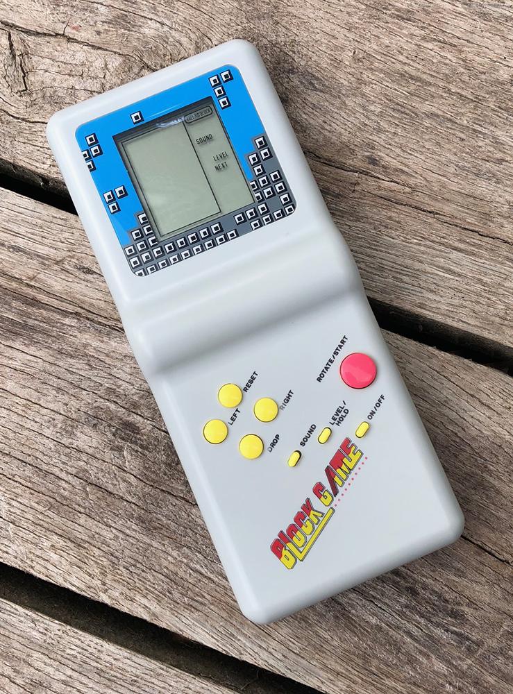Block Game handheld