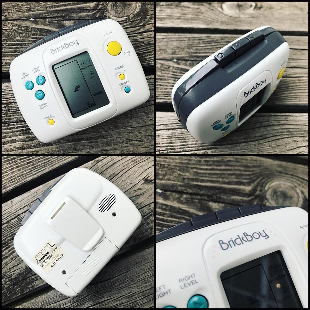 Brick Boy Tetris handheld Cassette Tape Player