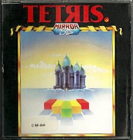 C64 floppy disk - Tetris