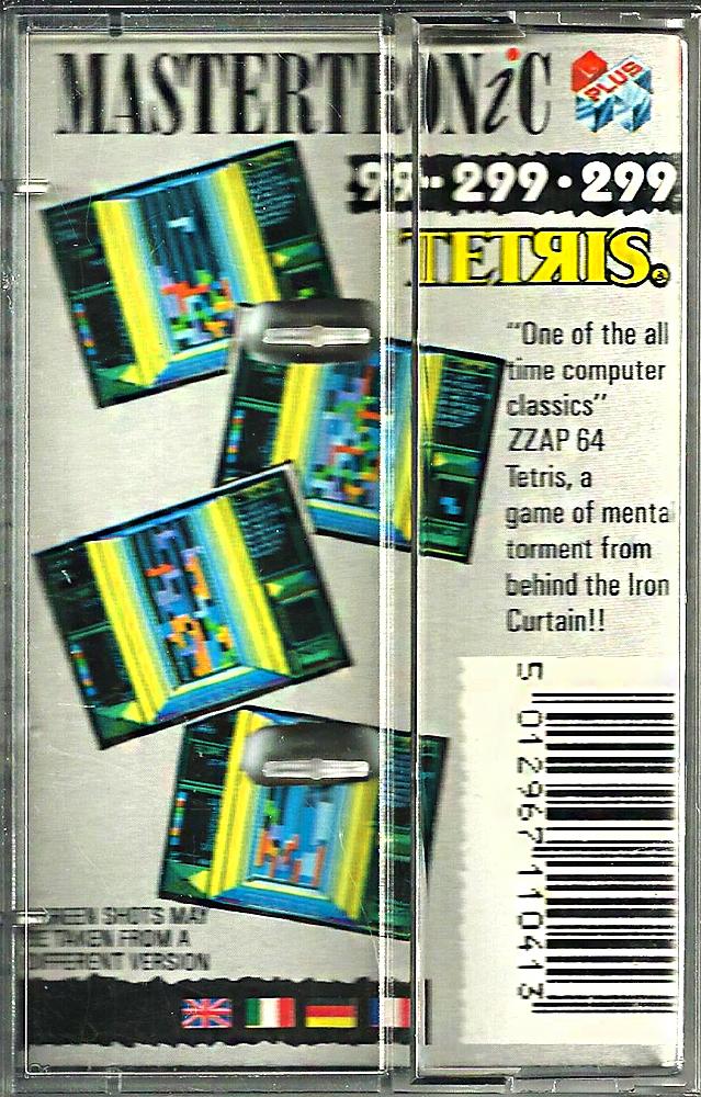 C64 - Tetris back