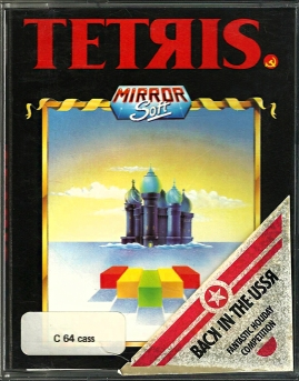 C64 - Tetris big box