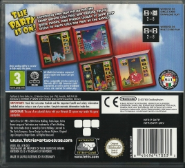DS - Tetris Party Deluxe back