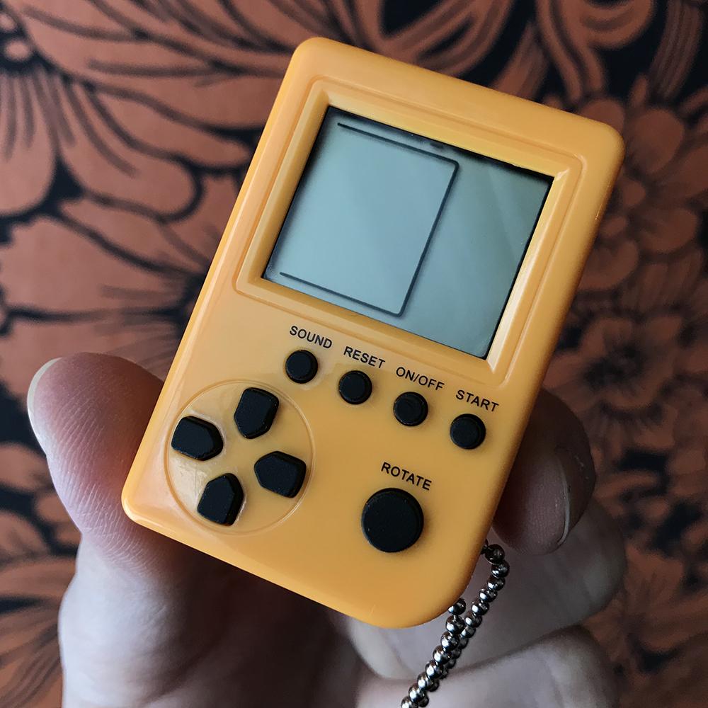 Game Box Mini Yellow