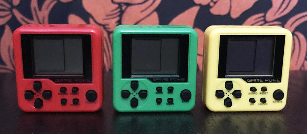 Game Poke Pro Tetris keychain