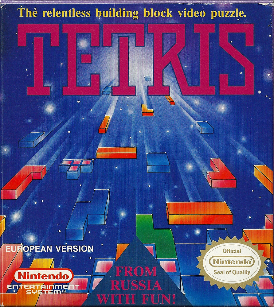 NES - Tetris small box