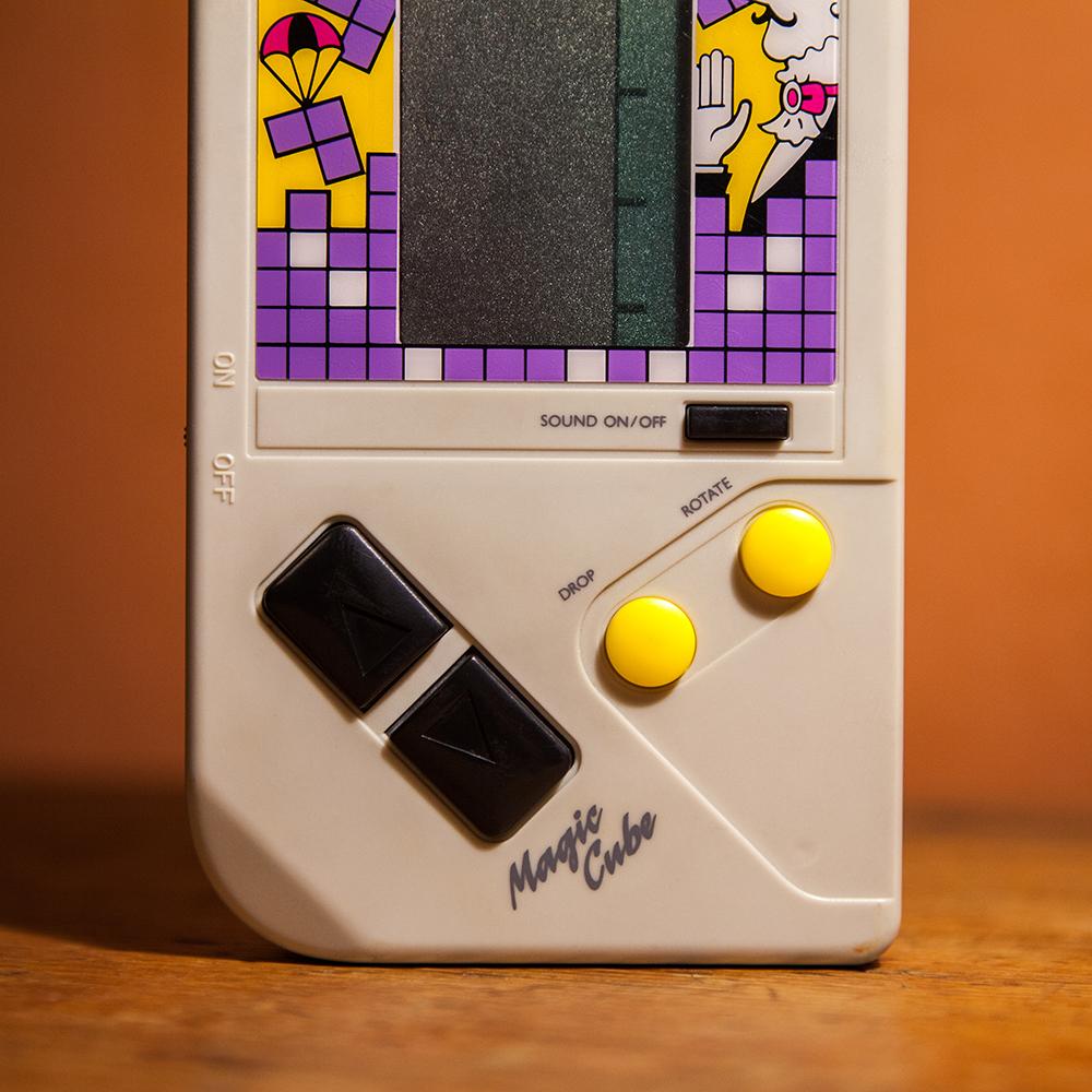 Magic Cube Drop Button