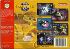 N64 - Tetrisphere back