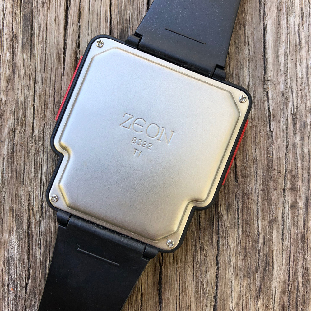 Nelsonic Tetris Game Watch by Zeon backside