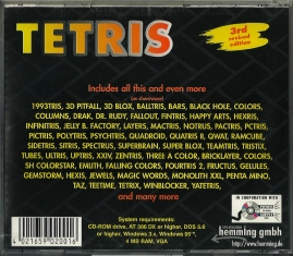 PC - Tetris CD III back
