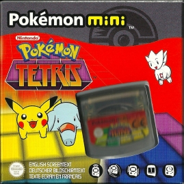 Pokémon Mini - Pokémon Tetris