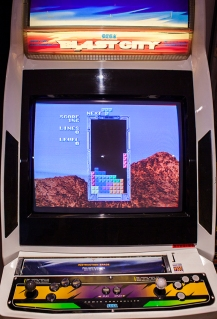 Sega Tetris Arcade gameplay
