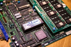 Sega Tetris Arcade PCB closeup