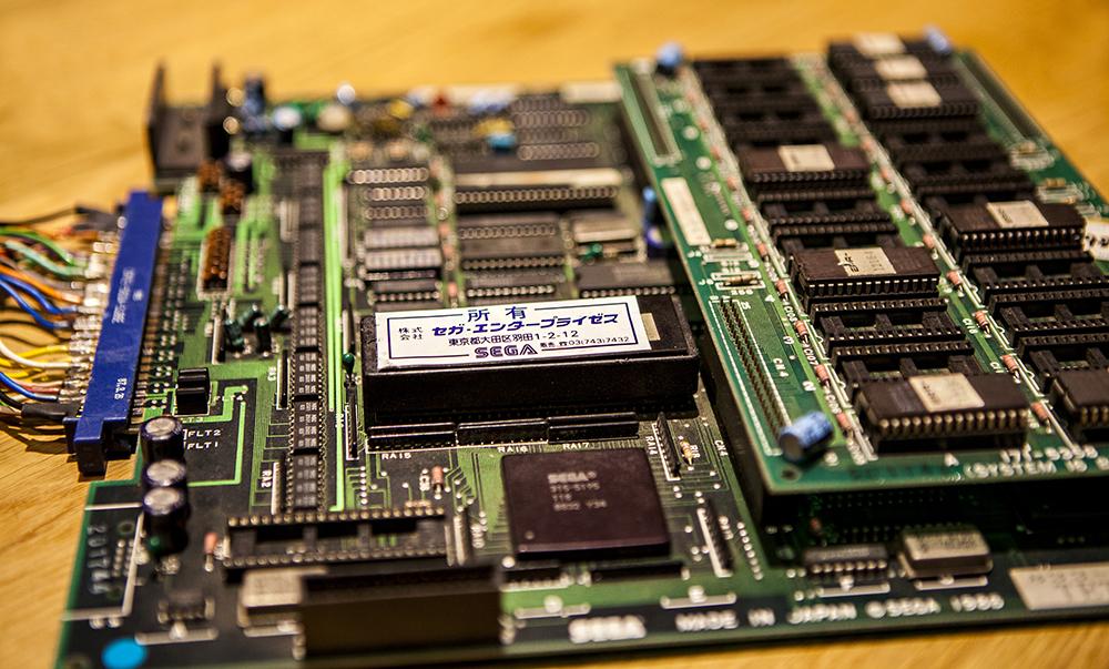 Sega Tetris PCB