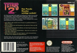 SNES - Tetris 2 back