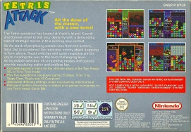 SNES - Tetris Attack back