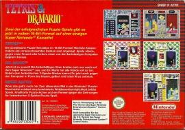 SNES - Tetris & Dr. Mario back