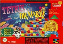SNES - Tetris & Dr. Mario