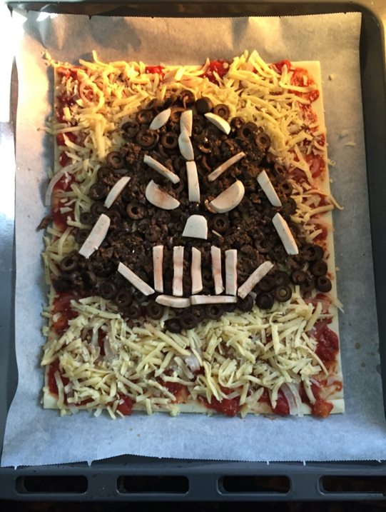Star Wars Pizza Darth Vader