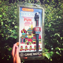 Tetris Game Watch from Russia with fun