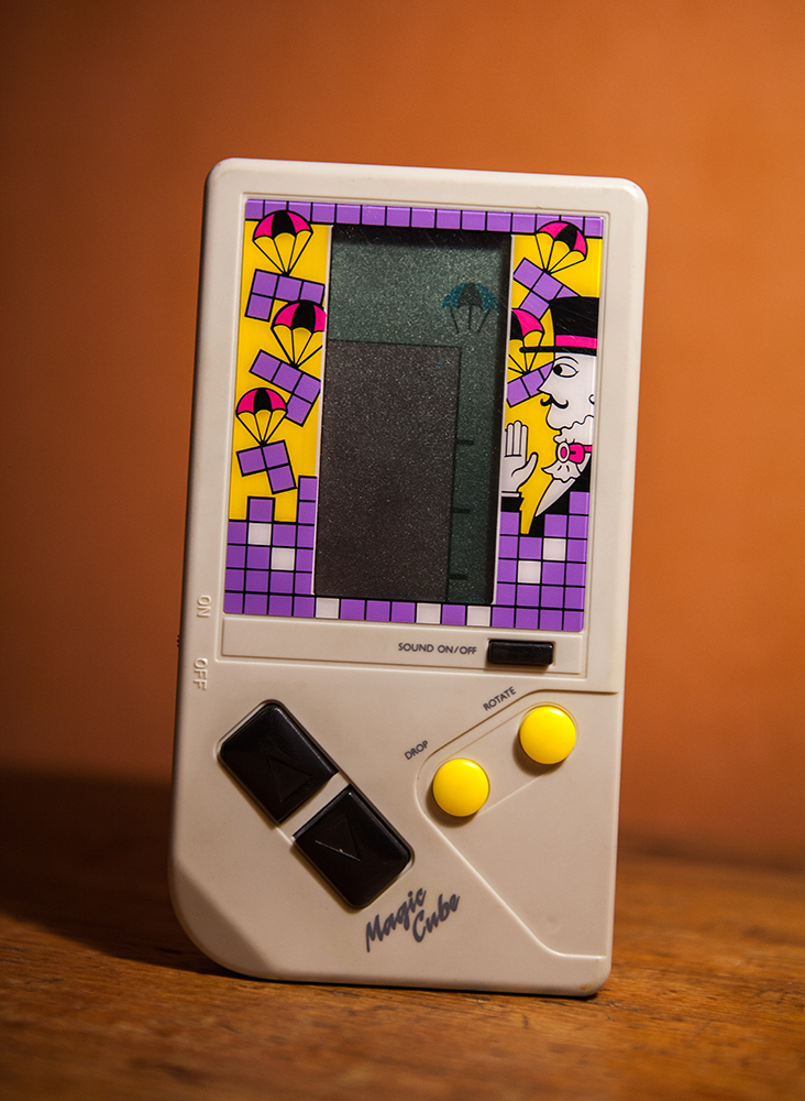 Tetris handheld Magic Cube