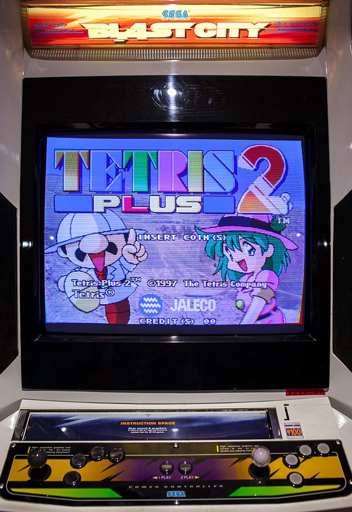 Tetris Plus 2 Arcade