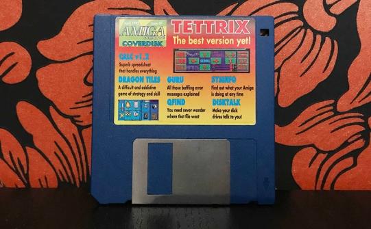 Tettrix Amiga coverdisk