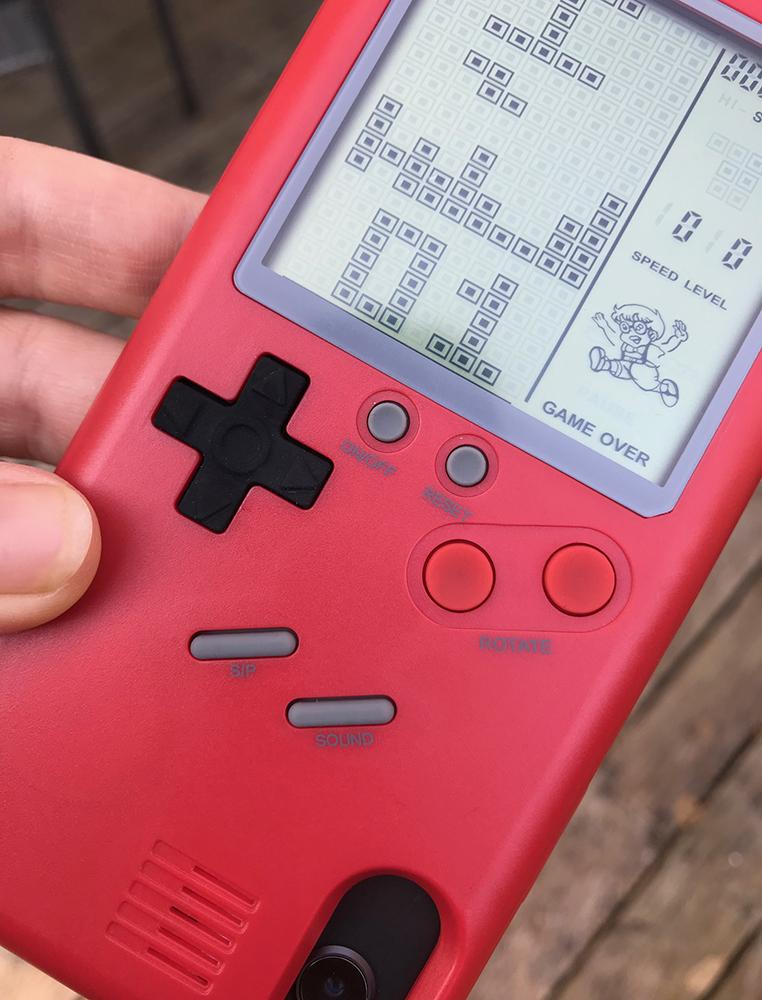 Wanle Red Tetris iPhone case