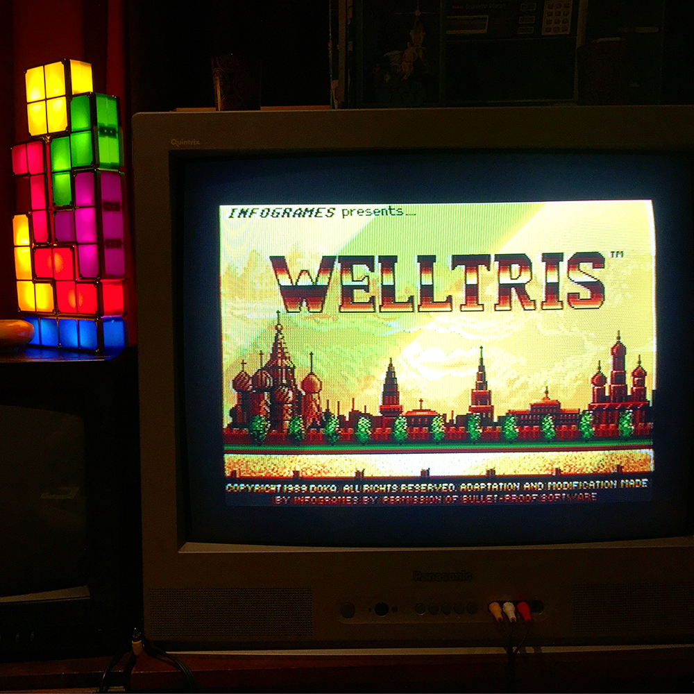 Welltris on Atari ST