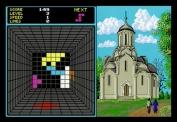 Welltris on Atari ST - Stage 1 on level 3