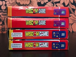Wisdome Game boxes side