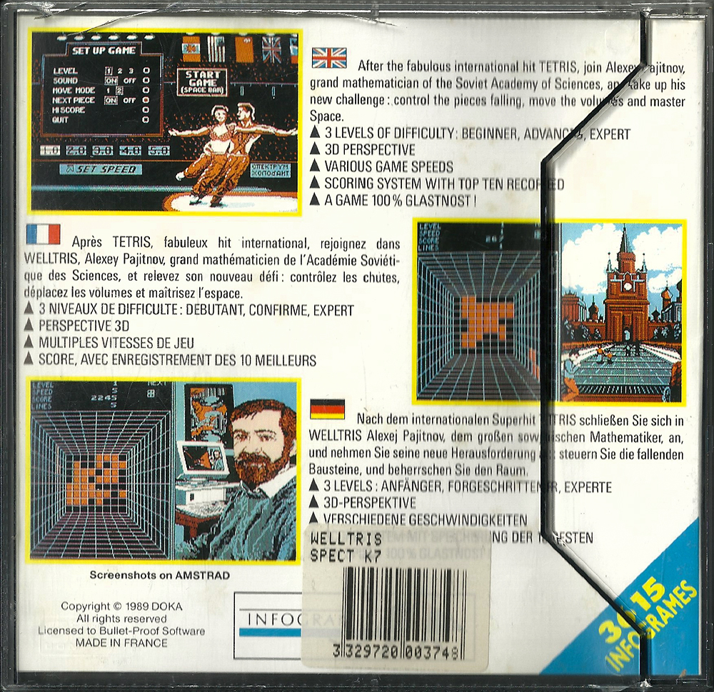 PS2 - Tetris Worlds