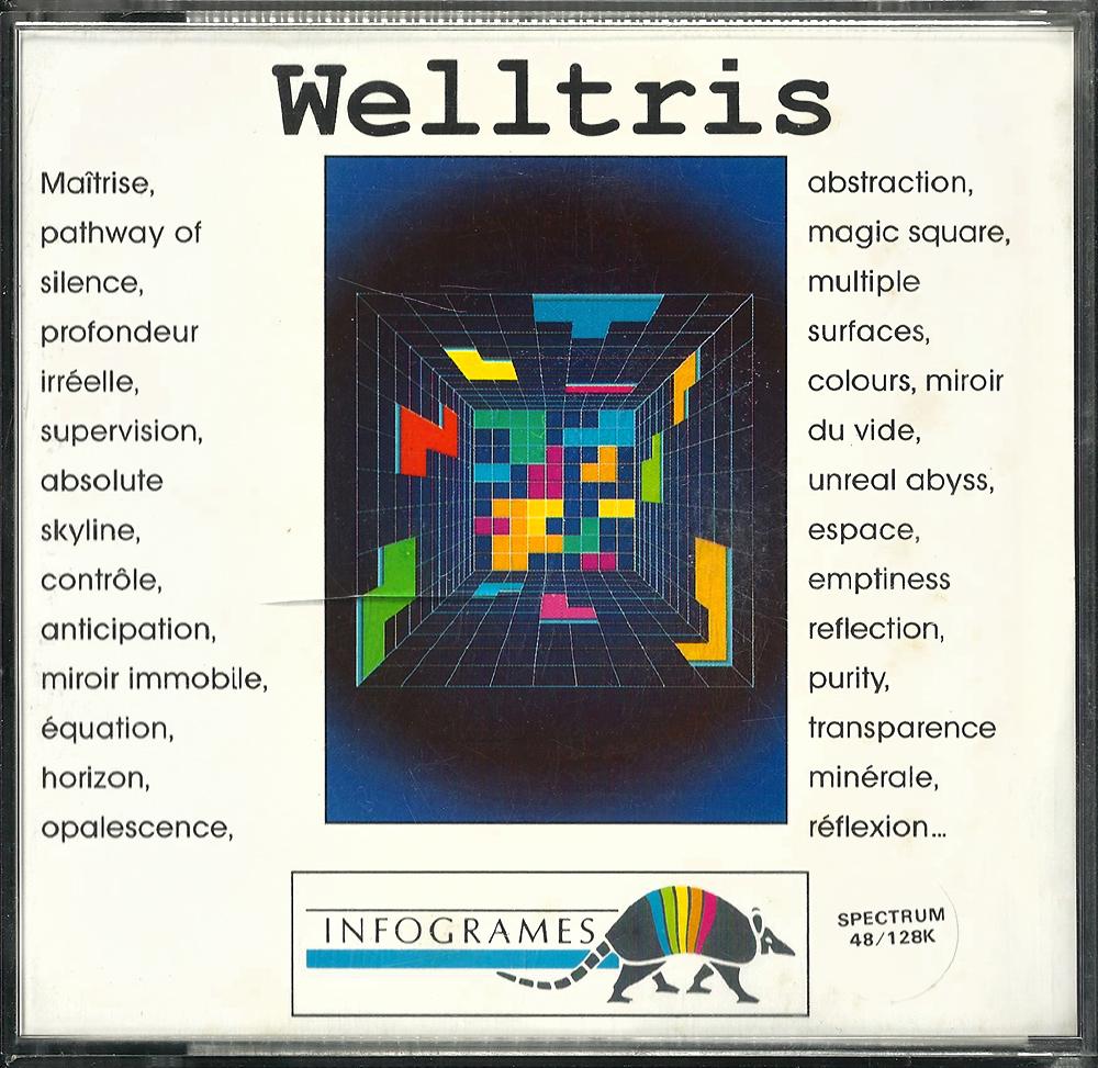 ZX Spectrum - Welltris