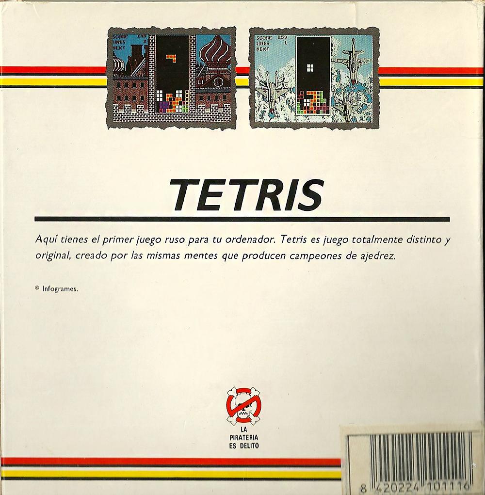 ZX Spectrum - Tetris