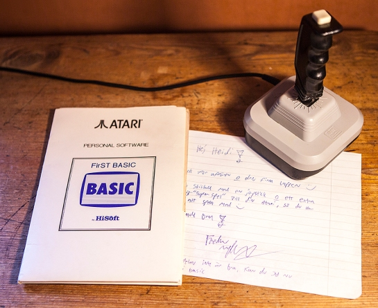 Atari ST Joystick and First Basic
