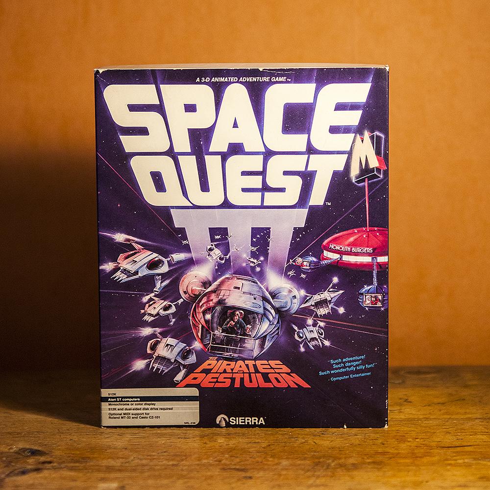 Space Quest III Atari ST