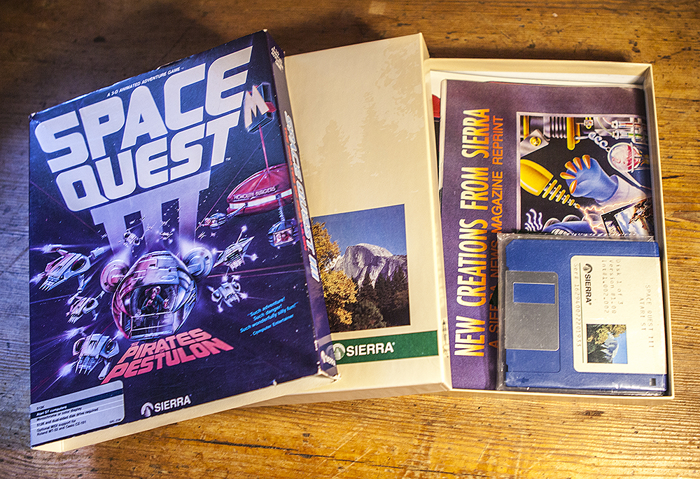 Space Quest III The Pirates of Pestulon Atari ST