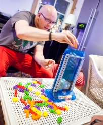 Tetris Tower 3D board game
