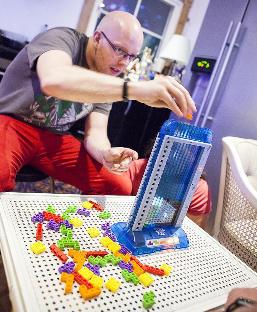 Tetris Tower 3D board game