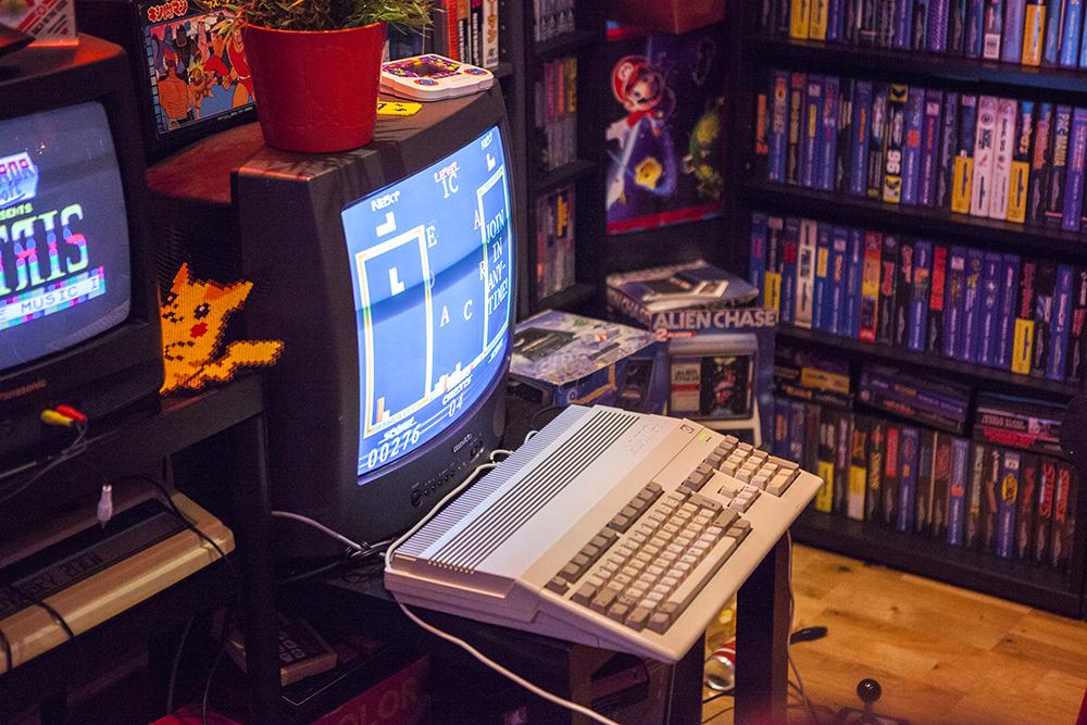 Twintris on Amiga 500
