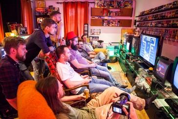 Retro Rumble - Finals NES co-op Tetris
