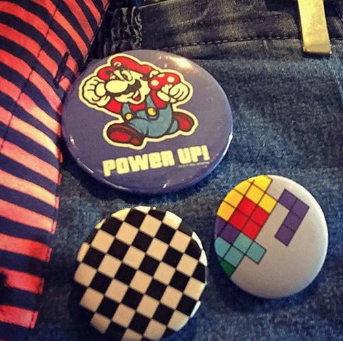 Tetris Pins