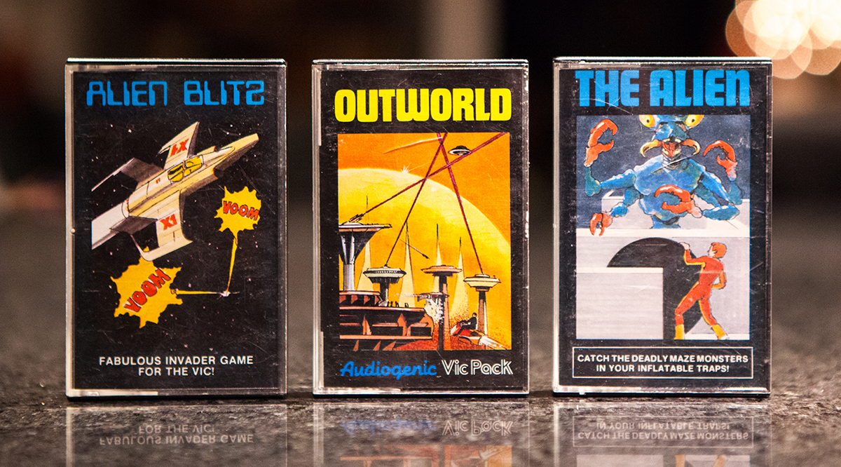 Alien Blitz, Outworld and The Alien - VIC-20