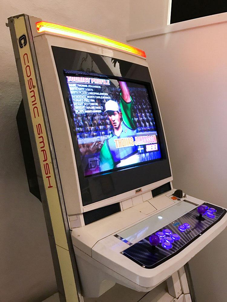 Arcades at Stockholm's game museum