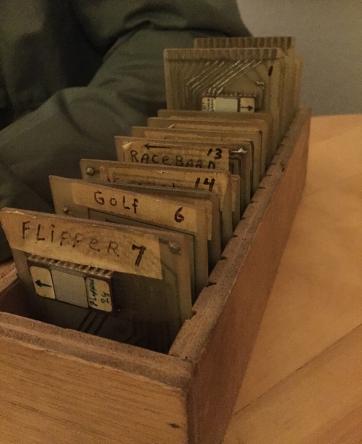 Box of Videopac prototypes