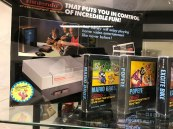 Boxed NES on display at Stockholm's Game Museum