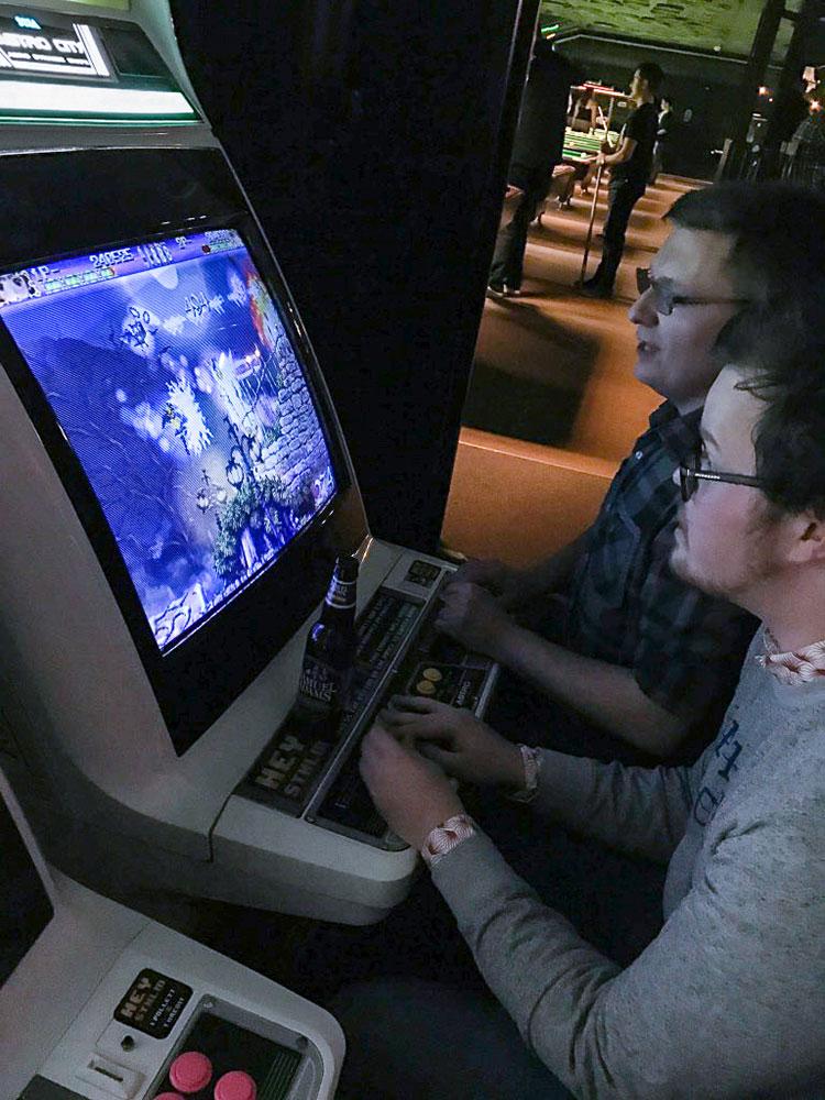 Deathsmiles on arcade